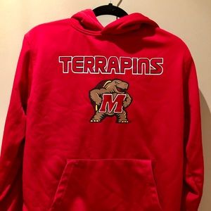 University of Maryland Hoodie Hooded Sweeatshirt